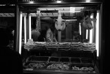 Varvakeios meat market in Central Athens