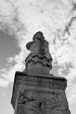 Statue in Athens Agora