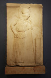 Relief of the 'Mourning Athena' - Classical period 460-450 BC, parian marble