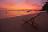 Deckchair at dusk