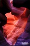 Navajo Country    -    Antelope Canyon