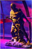 Statue of Adolf Guyer-Zeller (builder of Jungfrau railway)
