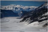 42 sq mi  Aletsch Glacier
