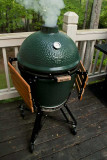 The Big Green Egg doing what is does best