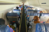 Tight quarters in regional jet