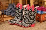 Wellies in Montana for JVC