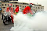 Santas on motorbikes (2007)