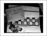 Musée de la grande guerreLe jeu de dames du poilu