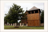 parc ethnographique de Dziekanowice Eglise en bois du 18 ème