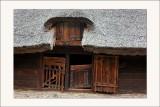 parc ethnographique de Dziekanowice Chaume