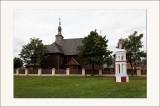 parc ethnographique de Dziekanowice Eglise en bois