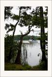 Sur le lac de Kórnik