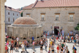 Dubrovnik. The Large Onofrios Fountain