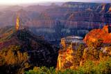 (CG21) Hayden Peak, Point Imperial, North Rim,  Grand Canyon AZ
