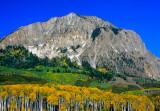 Marchellina Mountain, a laccolith, Kebler Pass, CO