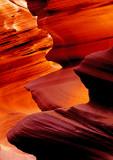 Detail in Antelope Canyon, AZ