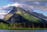 Mount Rundle from Vermilion Lake, Banff National Park, Alberta, Canada