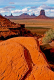 View from North Window, Monument Valley, Navajo Tribal Park, UT