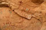 Anasazi pictographs,  AZ