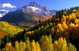 Mount Sneffles, Colorado Rockies near Ridgeway, CO