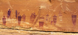 Barrier style pictographs, Horseshoe Canyon, Canyonlands National Park, UT