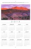 Chinle Formation, Arizona Highways Engagement Calendar, 2012