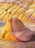 Banded rock, South Coyote Buttes, Paria Canyon-Vermillion Cliffs Wilderness, AZ