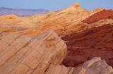 View of Silica Dome, Fire Canyon, Valley of Fire, NV
