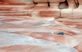 Pink Canyon floor and wall,  Valley of Fire, NV