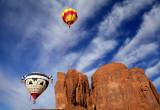 Koshari and Friend, Monument Valley, Navajo Tribal Park, AZ/UT
