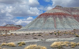 Chinle mound, Petrified Forest National Park, AZ