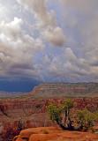 Stormy sky at Toroweap, Grand Canyon National Park, AZ