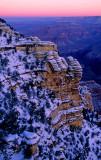(GC3) Predawn, Mather Point, Grand Canyon, AZ