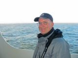 Greg at sea
