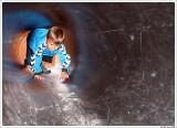 Oskar on the playground