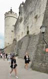 The North Wall of Festung Hochsalzburg