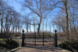 Saaxumhuizen - Begraafplaats hek
