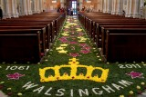 Carpet of Flowers at Arundel Cathedral