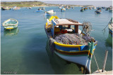Marsaxlokk, fishing harbour ,Malta