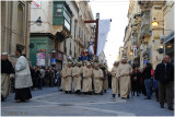 Easter parade at Valletta