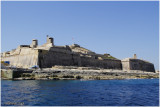 Valletta, grand harbor fortifications