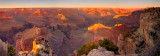 Hopi point sunset panorama