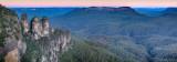 Blue mountains katoomba panorama