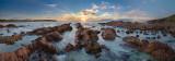 Kangaroo Island sunset pano