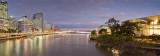Brisbane from bridge