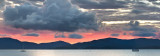 Sunset islands pink