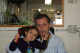 Zaven with his lovely daughter Julia