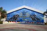 Mural of the ISS