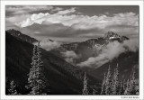 Bear Mountain and Breaking Clouds, San Juan National Forest, Colorado, 2011