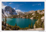 Second Lake, Big Pine Basin, John Muir Wilderness, California, 2011